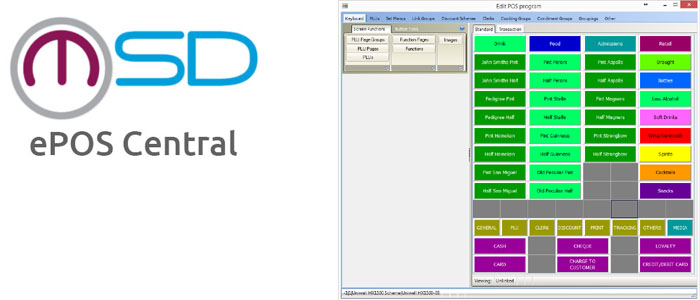 ePOS central - Central back office  software