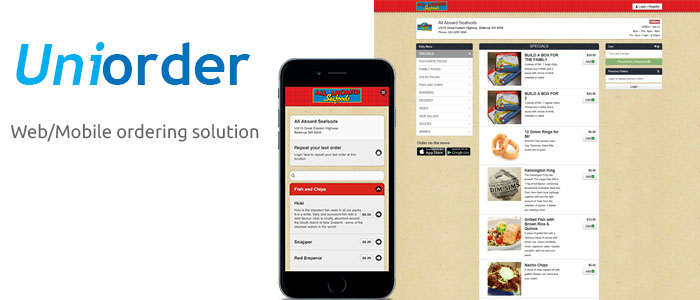 UniOrder - Web/Mobile ordering solution